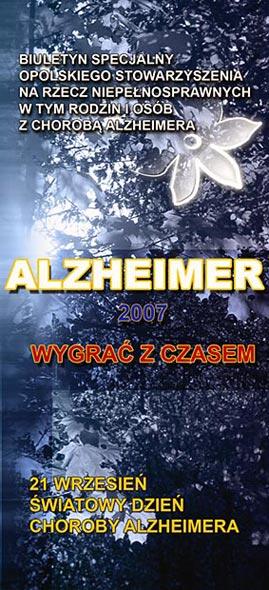 Alzheimer - ulotka