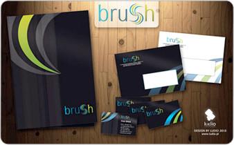 Logo i CI oraz serwis www dla Brush