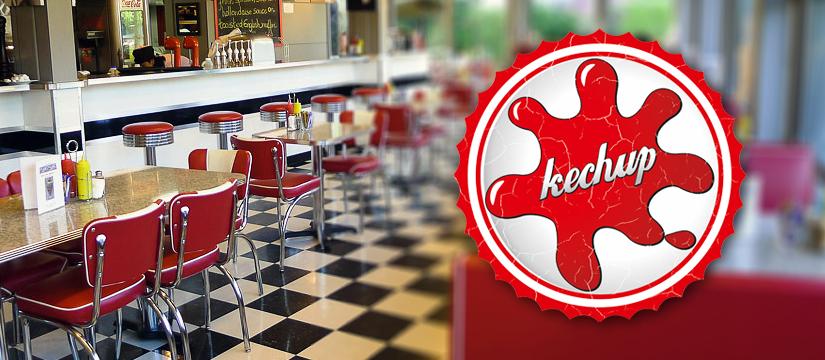 Logo Kechup - restauracja Dzierżoniów