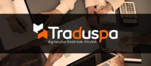 Traduspa - logo firmowe