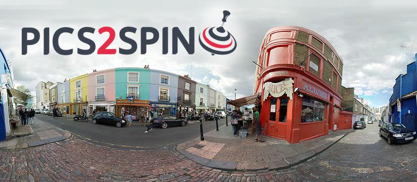 Pics2Spin - fotografia 360
