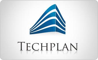 Techplan- projekt logo