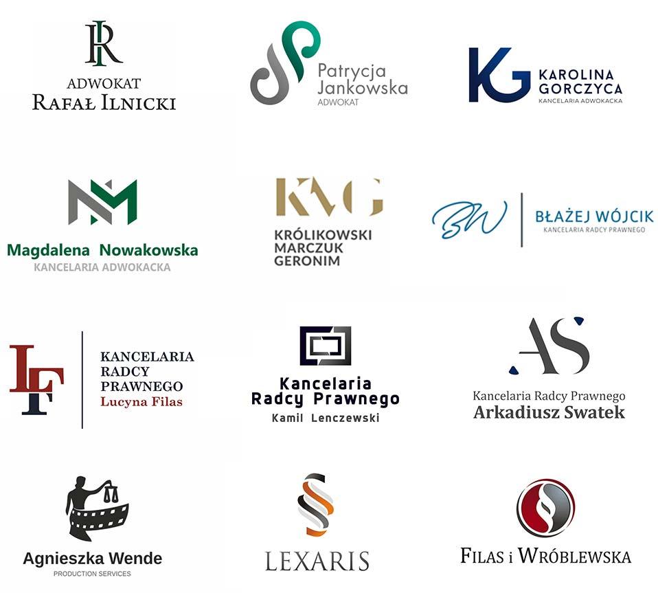 galeria projektów logo kancelarii